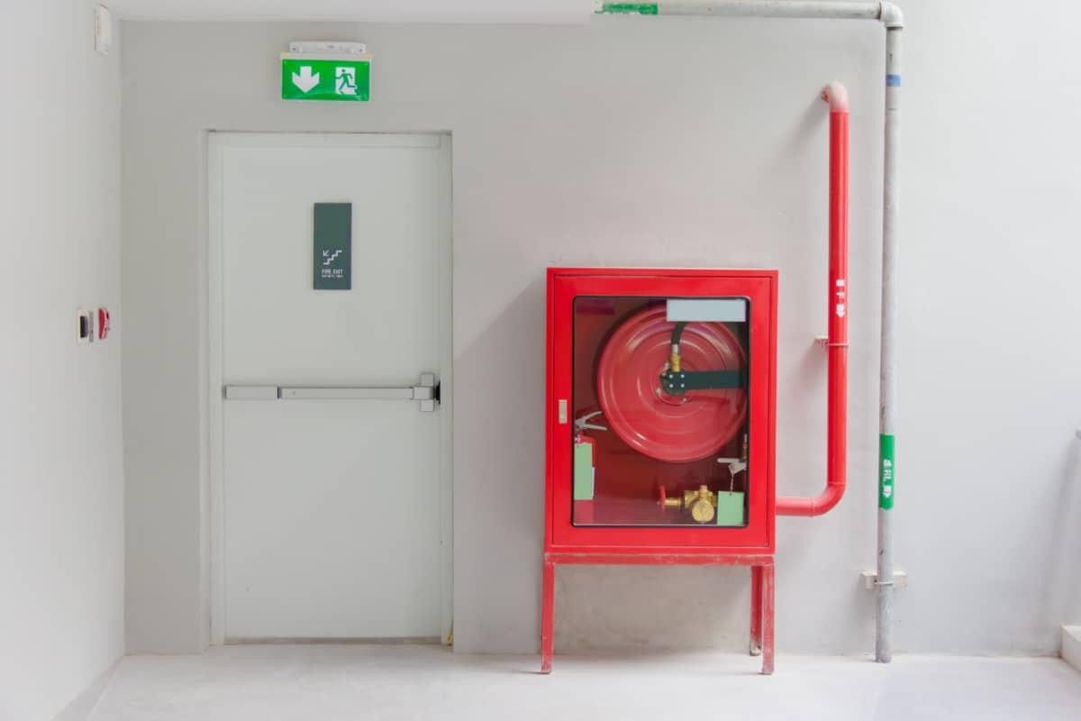 brandwerende deur voorbeeld