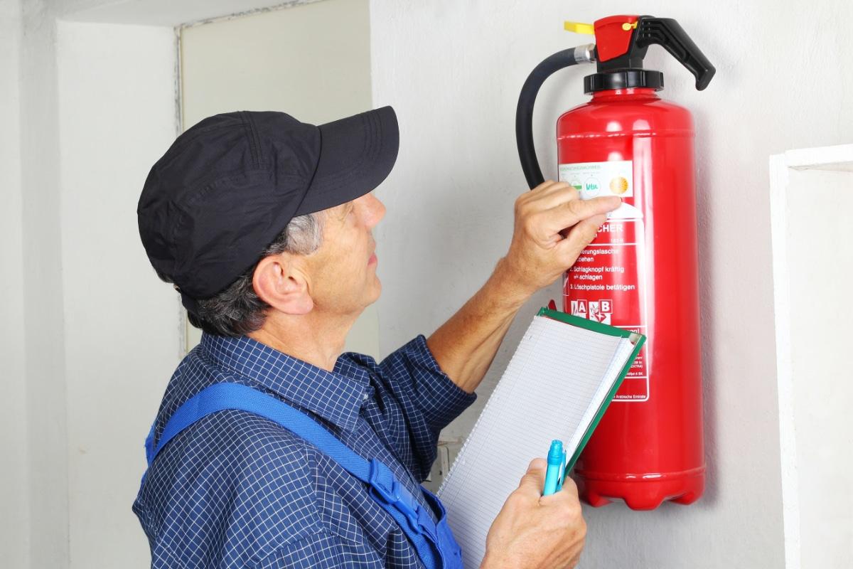 voorbeeld brandblusser